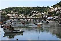 SX2553 : Looe Harbour by David Robinson