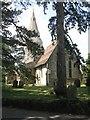 TL2877 : Church and churchyard at Broughton by M J Richardson