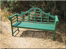 S6811 : Green Seat by kevin higgins