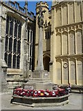 SP0202 : Cirencester war memorial by Philip Halling
