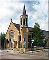 TQ3596 : Ponders End: Catholic Church of Mary, Mother of God by Julian Osley