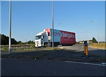 TR2067 : Lorry on Thanet Way, Broomfield by David Howard