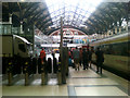 TQ3381 : Inside Liverpool Street Railway Station by Geographer