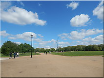 TQ2780 : Paths in Hyde Park by Hamish Griffin