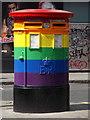 TQ2980 : London: postbox № W1D 114/314, Dean Street by Chris Downer