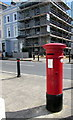 SX4754 : Victorian pillarbox on a Plymouth corner by Jaggery