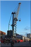 NZ4057 : Crane and shed, Corporation Quay, Port of Sunderland by Graham Robson