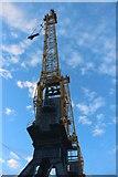 NZ4057 : Quayside crane, Port of Sunderland by Graham Robson