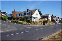 SE2837 : Church Lane at Holmwood, Meanwood, Leeds by Ian S