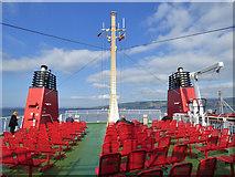 NS1968 : Passenger deck on MV Argyle by Thomas Nugent
