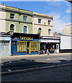 SX4654 : Bill & Doc Price Tattoo Parlour in Plymouth by Jaggery