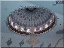 TQ3385 : Interior dome detail, Aziziye Mosque by Robin Sones