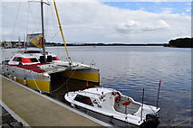 C4317 : Boats, Derry / Londonderry by Kenneth  Allen