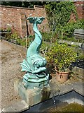 SK4924 : Fish fountain by Alan Murray-Rust