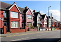 SM9005 : Great North Road houses, Milford Haven by Jaggery