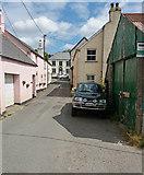 SS6644 : Parracombe: main street by Martin Bodman