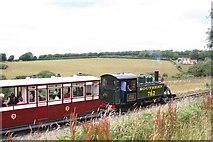 SS6846 : Train nearing Woody Bay Station by Martin Bodman