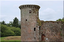 NY0265 : Murdoch's Tower, Caerlaverock Castle by Billy McCrorie