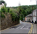 SO2603 : Speed bumps and double yellow lines, High Street, Abersychan by Jaggery