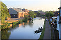 SJ7992 : Bridgewater Canal in the Evening by Des Blenkinsopp