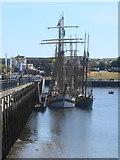 NZ4057 : Tall Ships on Manor Quay by John M