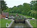 SP5465 : Braunston Locks No 3 in Northamptonshire by Roger  Kidd