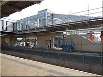 SK3635 : Platform 6 under construction at Derby station (1) by Stephen Craven
