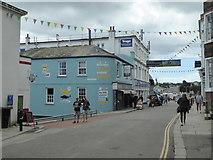 SW8132 : Arwenack Street, Falmouth by Chris Allen