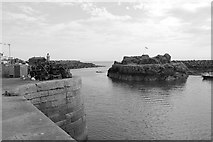 NW9954 : The Dorn Rock, Portpatrick Harbour by Billy McCrorie
