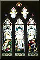 SO5663 : Window inside St. Andrew's Church (Chancel | Leysters) by Fabian Musto