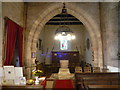 SO4657 : Inside All Saints Church (Bell Tower   Monkland) by Fabian Musto