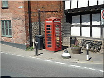 SO3958 : Telephone Box at Pembridge by Fabian Musto