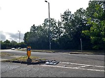 SU4726 : Roundabout on St Cross Road, Winchester by David Howard