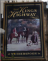 NH6645 : The Kings Highway on Church Street, Inverness by Ian S