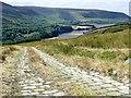 SK0799 : Track above Torside Reservoir by Graham Hogg