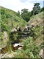 SE0800 : Ford and waterfall in Hey Clough by Graham Hogg
