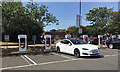 ST5175 : Tesla vehicle charging, M5 Gordano services by Robin Stott