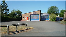 SO4382 : Craven Arms Fire Station by Fabian Musto