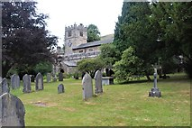 SD6592 : St Andrew's Parish Church, Sedbergh by Alan Reid