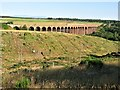 NH7644 : Culloden Viaduct, River Nairn by G Laird
