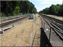 TQ0893 : Looking south from Moor Park station by Marathon