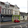 SO1106 : Derelict shop in Merchant Street, Pontlottyn by Jaggery