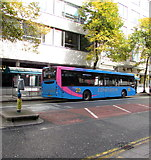 ST1876 : Edwards bus, Greyfriars Road, Cardiff city centre by Jaggery