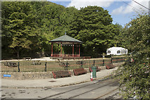 SK3455 : The bandstand at Crich Tramway Museum by Malcolm Neal