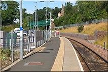 NT3461 : Gorebridge station by Jim Barton