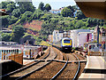 SX9676 : First Great Western Train at Dawlish by David Dixon