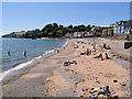 SX9676 : The Beach at Dawlish by David Dixon