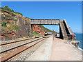 SX9777 : Footbridge over the South Devon Mainline near Dawlish by David Dixon
