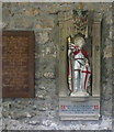SE4436 : St George in Lotherton Hall Chapel by Humphrey Bolton