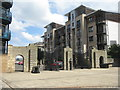 NT2776 : Tower Place entrance, Leith by M J Richardson